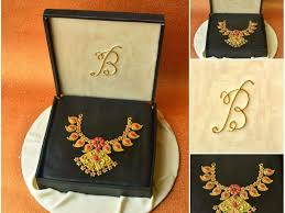 gold necklace box images Indian gold necklace in jewelry box cake JPG