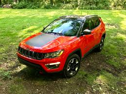 orange jeep compass 2017 jeep compass trailhawk review