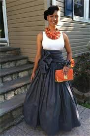 2017 empire long skirts with bow ribbon custom made size plus size