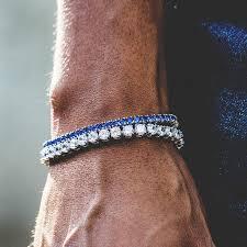 tennis blue bracelet images Tennis bracelet bundle w blue stones the gld shop jpg