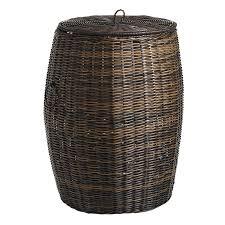 coco cove wicker laundry hamper pier 1 imports