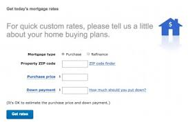 Mortgage Rate Estimate by Bank Of America Mortgage Rates And Calculators Bank