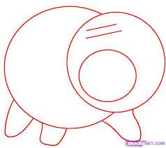 draw hamm step step disney characters cartoons draw