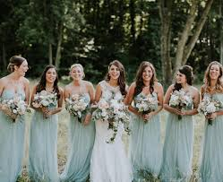 seaglass willow dresses by jenny yoo real weddings bridesmaids
