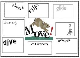 animal action verb lessons language pinterest animal action