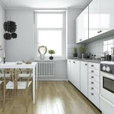 quelle peinture pour une cuisine quelle couleur pour les murs d une cuisine blanche habitatpresto