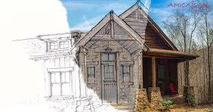 custom home plans with photos rustic mountain homes amicalola home plans