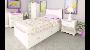 Ameriwood Bedroom Furniture by Ameriwood Youth Options Collection Headboard With Pink Blue Color