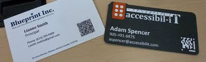 Business Card With Qr Code Icyte Saved Page Vcard On Business Card With Qr Code