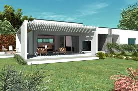 contemporary house plan bc 2 161m2