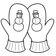 mitten coloring pages getcoloringpages