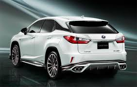 lexus rx reddit toyota u0027s trd division makes the lexus rx look even more striking