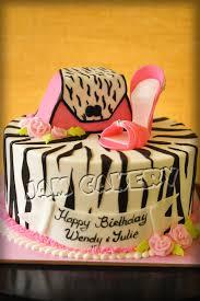 cake purse zebra purse and shoe birthday cake j a m cakery