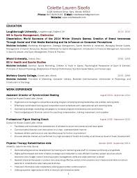 Sample Resume Internship Sample Resume In Usa Image Gallery Of Exclusive Ideas Resume 8