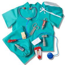 amazon com prextex child u0027s halloween doctor dress up surgeon