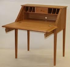Open Front Desk Compact Slant Front Desk
