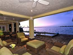 covered lanai sunsets on sarasota bay this ground floor covered lanai space