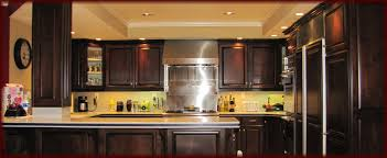 stained wood kitchen cabinets home and interior