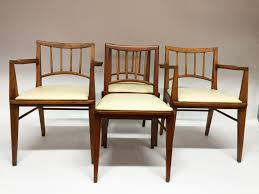 Midcentury Modern Dining Chairs Set Of 4 Mid Century Modern Dining Chairs By Boratto Marcello