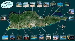 road map of st usvi st croix islands http www stcroixtourism aerial