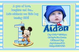 baby boy first birthday invitation cards iidaemilia com