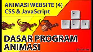 membuat web sederhana dengan javascript animasi website css dan javascript 4 membuat game sederhana 1
