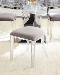 Lucite Dining Room Chairs Dining Chairs Leather U0026 Acrylic Dining Chairs At Neiman Marcus