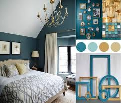 chambre or chambre bleu canard avec quelle couleur accords classe et idées