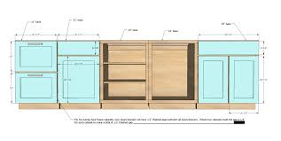 Kitchen Cabinet Building Plans Kitchen Cabinet Dimensions For Your Plan The New Way Home Decor