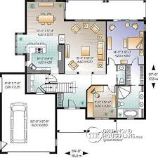 Game Room Floor Plans House Plan W3246 V1 Detail From Drummondhouseplans Com