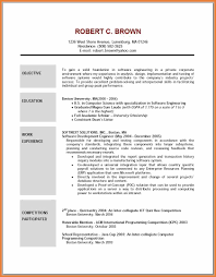 Resume Examples With Objectives by Objective Resume Samples Sop Proposal