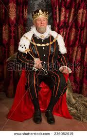 tudor king king tudor costume sitting on his stock photo 236052619 shutterstock
