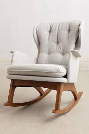 Modern Nursery Rocking Chair Nursery Rocking Chair For Added Comfort Furniture And Decors