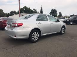 toyota corolla 83 2013 toyota corolla le 4dr sedan 4a in roseville ca cost u less cars