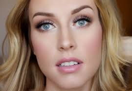 wedding makeup looks for blue eyes