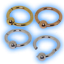 metal ball rings images Steel hinged segment ring with ball jpg