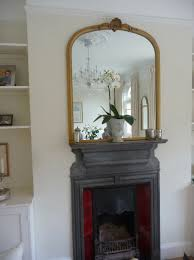 large mirror above fireplace home design ideas