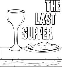 The Last Supper Coloring Page Free Printable And Sunday School Last Supper Coloring Page