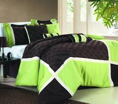 Black And Green Bedding Lime Green King Size Bedding 8271