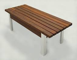 Designer Wooden Garden Bench by Garden Bench Deepstream Designs