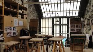porte style atelier d artiste cuisine style atelier industriel ide de suspension avec poutre et