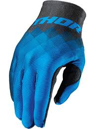 motocross gloves thor blue 2017 invert mx gloves thor freestylextreme america