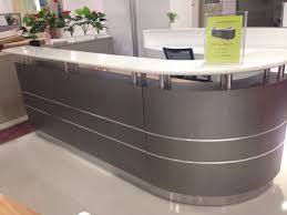 Small Reception Desk Ideas Best 20 Curved Reception Desk Ideas On Pinterest Curved Desk