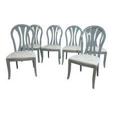 vintage u0026 used gray dining chairs chairish