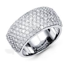 daimond ring diamond rings and necklaces pave diamond ring