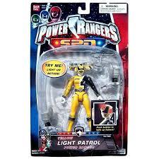 power rangers spd yellow light patrol power ranger action figure