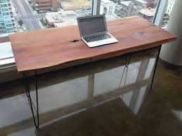Homemade Wood Computer Desk by 25 Best Solid Wood Desk Ideas On Pinterest Desk With Drawers