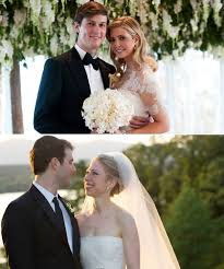chelsea clinton wedding dress chelsea clinton vs ivanka how do their weddings stack up