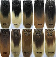 clip extensions ombre clip in hair extensions dip dye high