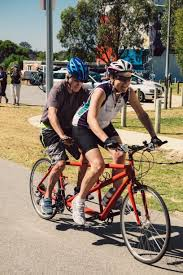 Blind Man Rides Bike Tandem Talk December 2016 Western Australian Tandem Cycling